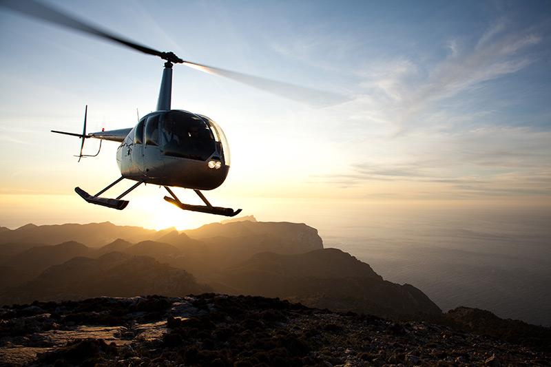 Gründung der rotorflug helicopters SL in Palma de Mallorca