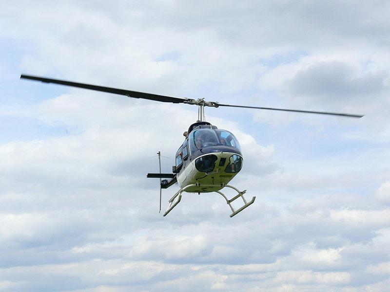Laserscanning per Hubschrauber