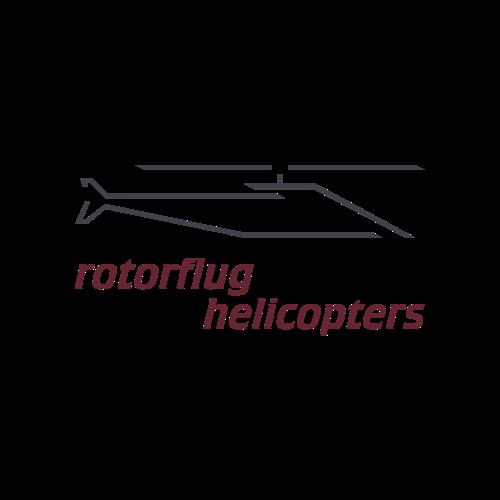 Logo rotorflug helicopters SL