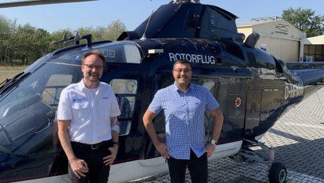 Geschäftsführer Dirk Herr und Georgios Kipros